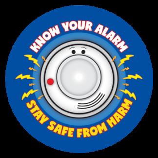 fire prevention week sticker