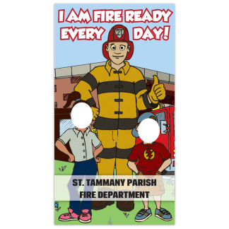 """""""I Am Fire Ready Every Day!"""" Photo Prop"""