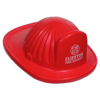 Custom Fire Helmet Stress Toy