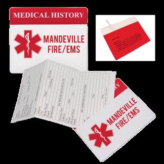 Custom Medical History Card & Organizer